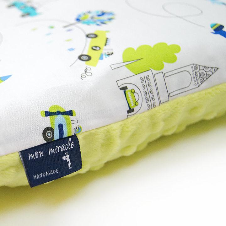 Poduszka dla dziecka 30 x 40 cm Minky AIRPLANE Mon Miracle 4