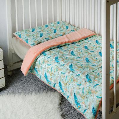 Poduszka płaska PAVONE 40x60 cm Minky Mon Miracle 4