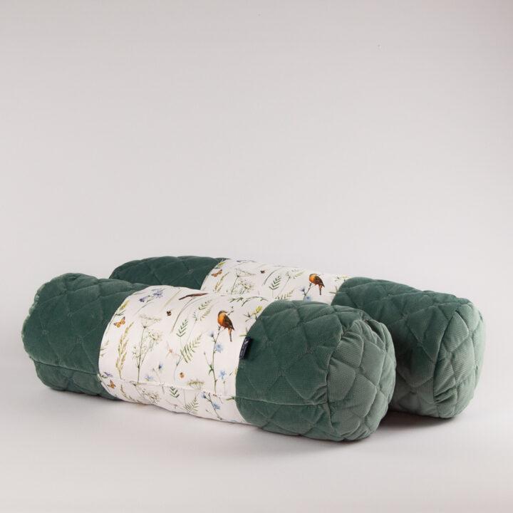 Poduszka wałek HAPPY velvet 60 cm